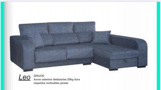 Cheslong deslizante y reclinable