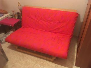 Futon cama Ikea con funda