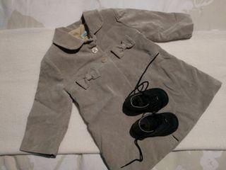 Abrigo + botas de bebé