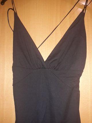 Vestido negro, Mango, talla M