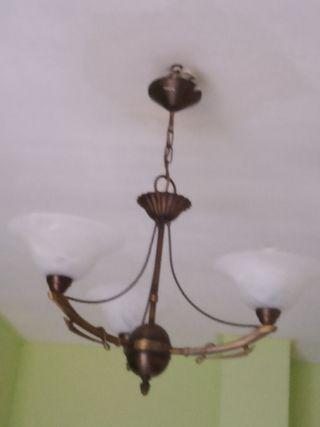 lampara y dos apliques