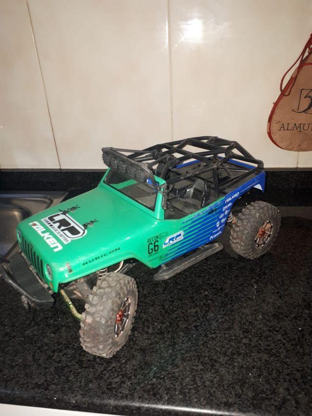 coche 4x4 rc Falken