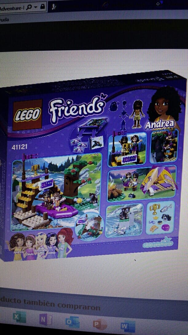 Lego Friends adventure camp rafting41121