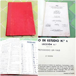 Libro ingles antiguo 1952