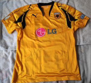 Camiseta fútbol AEK Atenas nueva, Rivaldo vintage