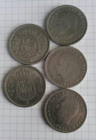 moneda 50 pts
