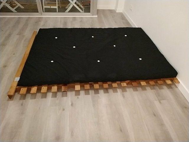 Futon 140 cm