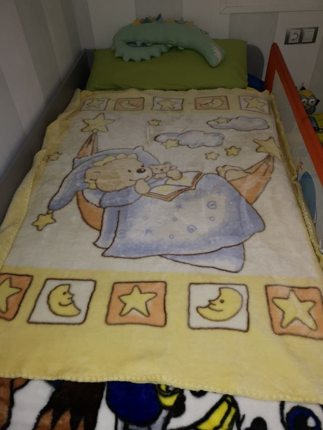 manta infantil unisex para cuna