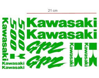 Kit pegatina vinilo Kawasaki GPZ 500