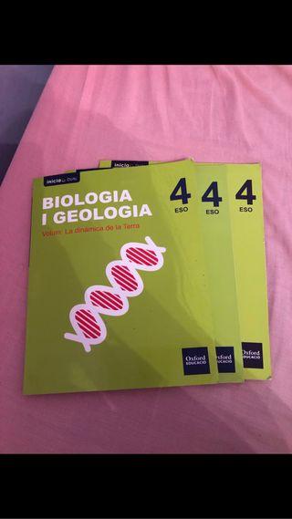 Libros biologia y geologia 4ESO