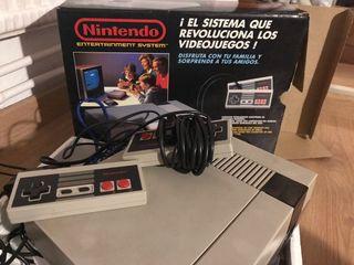 Nintendo Ness con dos juegos, funciona perfecta