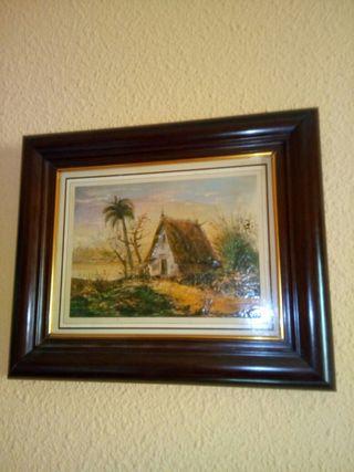 Vendo cuadro pintado a mano