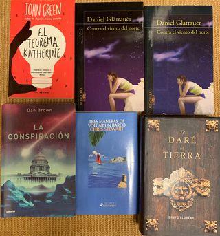 Lote 6 novelas.