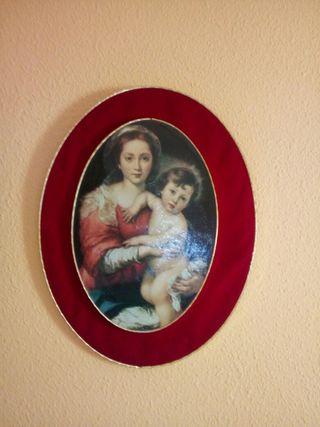 Vendo cuadro religioso pintado a mano