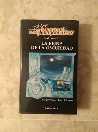 "Novela ""La reina de la oscuridad"""