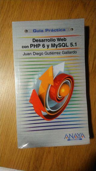 Libro Desarrollo web MySQL 5.1 y php 6. Anaya