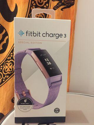 Fitbit Charge 3 TOTALMENTE NUEVO.