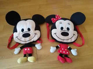 mochila Disney minnie Mickie mouse