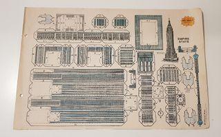 Lámina recortable nº4 EMPIRE STATE 1983
