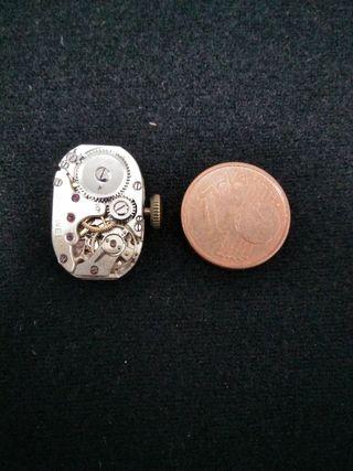 Antiguo Reloj IBERIC chapado oro 18k