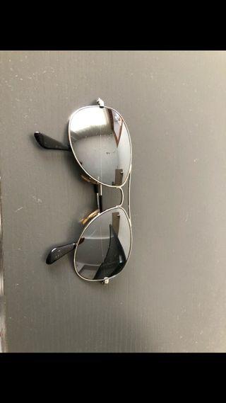 Gafas de sol rayban aviador plata