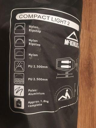 Tienda de Campaña McKinley Compact Light2
