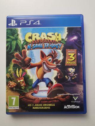 Crash Bandicoot N.Sane Trilogy - PlayStation 4