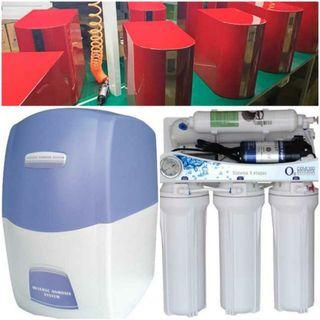 instalación depuradora de agua osmosis