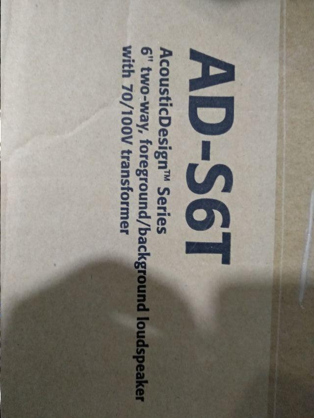 altavoces QSC AD-S6T (NUEVOS)