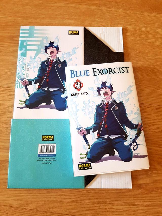 BLUE EXORCIST TOMO MANGA 21 CON COFRE