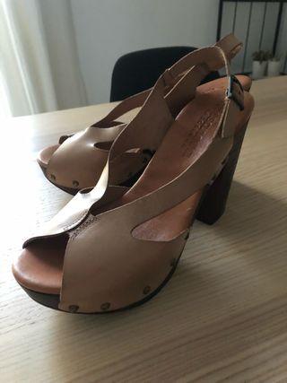 Zapato sandàlia Beige