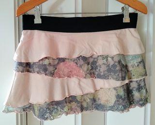 Minifalda Lolita de volantes