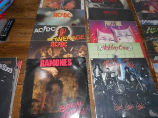 DISCOS VINILO HEAVY HARD ROCK ¡¡