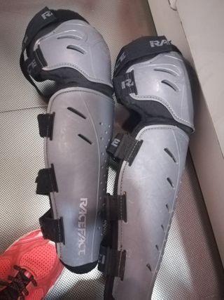 rodilleras espinilleras bici enduro, descenso L