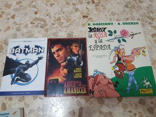 Cómics y libros de peliculas