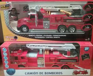 Set Camión Bomberos NUEVO