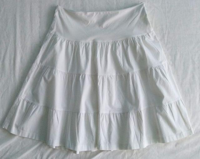 Falda de vuelo vaporosa