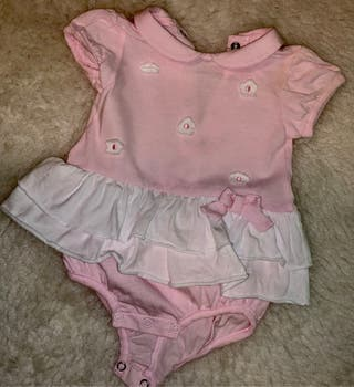 Pelele con falda Prenatal