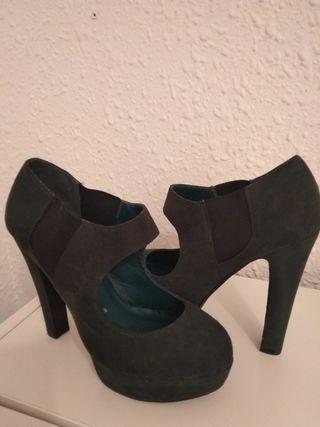 zapatos verdes maripaz nuevos