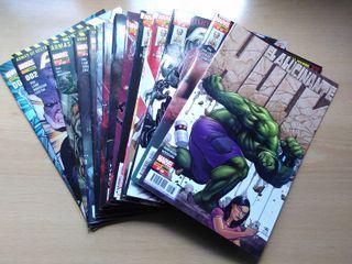 Lote 19 comics: Arma-X + El alucinante Hulk - nuev