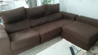 Sofá 3 plazas con chaise longue