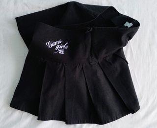 Minifalda estilo cheerleader