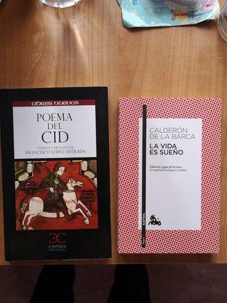 Poema del Cid y La vida es sueño