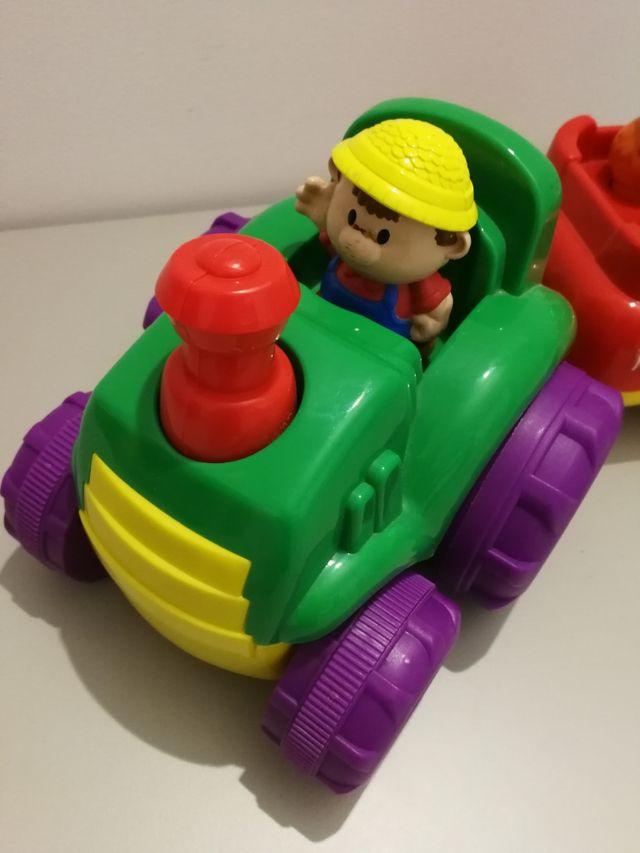 Nenittos Tractor Musical con Remolque