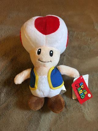Peluche seta Mario Bros