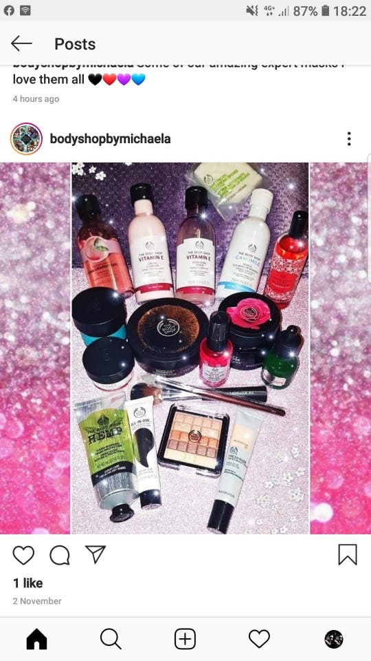 Bodyshop products