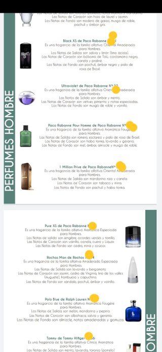 Colonias y perfumes de calidad