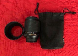 Objetivo Nikon AF-S DX VR 55-200mm