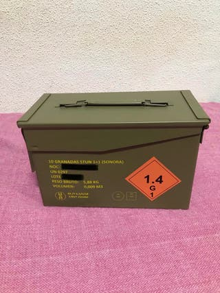 Caja de munición ejército español