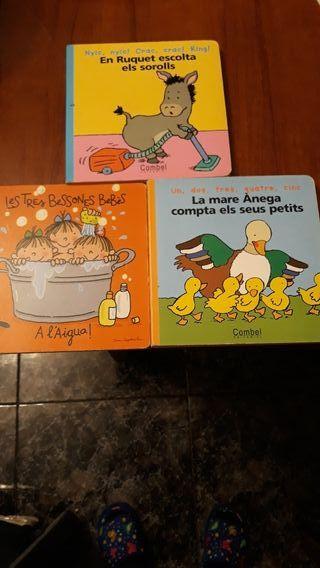 Tres libros infantiles 1a infancia
